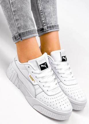 Рр 36-41. белые кожаные кроссовки кеды из натуральной кожи9 фото