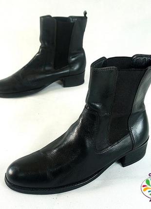 Ботинки 38 р clarks британия кожа оригинал демисезон