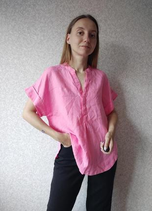 Льняная блуза marks spencer