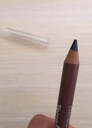 Олівець для очей, карандаш для глаз, темно синий карандаш, terra naturi.