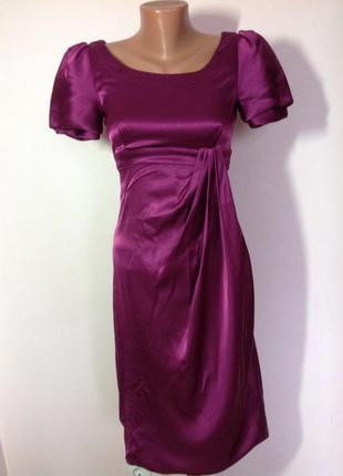 Фиолетовое платье karen millen