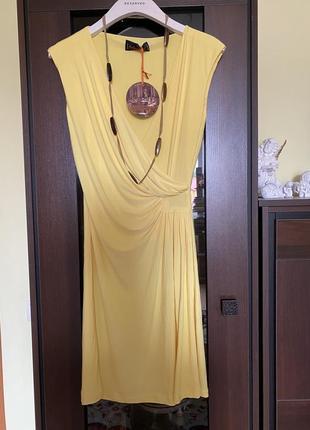 Красивое желтое платье asos