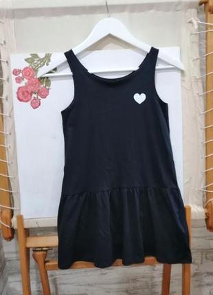 Платье органический хлопок h&m