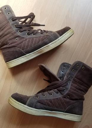 Зимові кеди взуття зимняя обувь тёплые кроссовки оригинал fila 39