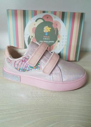 Розовые слипоны для девочки
