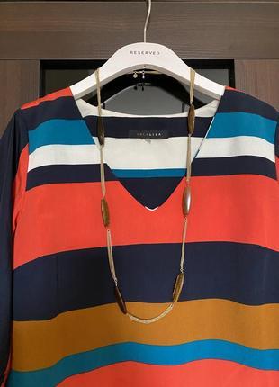 Яркая блузка asos