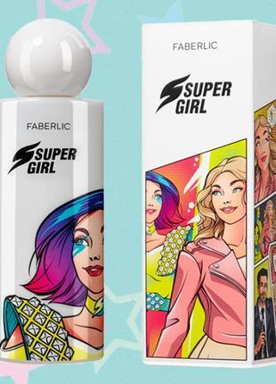 Парфюмерная вода для женщин supergirl faberlic