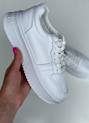 Белые білі кеди кеды кроссовки кроссы кросівки кроси еко шкіряні эко кожаные мягкие м'які модные крутые стильные трендовые