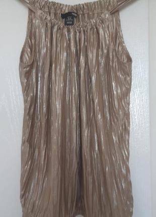 Майка -блуза нарядная