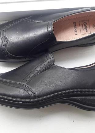 Кожаные туфли германия р.39