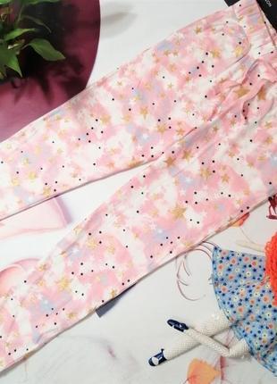 Брендовые пижамные штанишки next, 100% хлопок, размер м/l, новые с этикетками