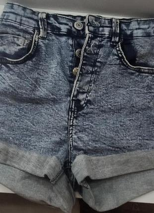 Шорты джинсовые bershka