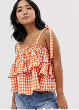 Ярусная блуза