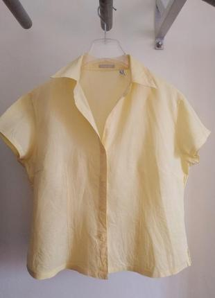Льняная рубашка marco pecci размер хl