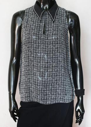 Шелковая блуза dorothee schumacher премиум бренд
