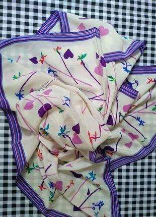 Оригинал, шелковый платок fiorio2 фото