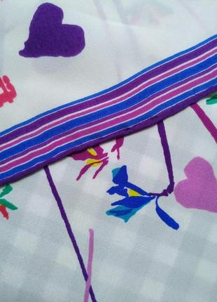 Оригинал, шелковый платок fiorio4 фото