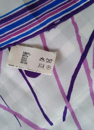Оригинал, шелковый платок fiorio5 фото