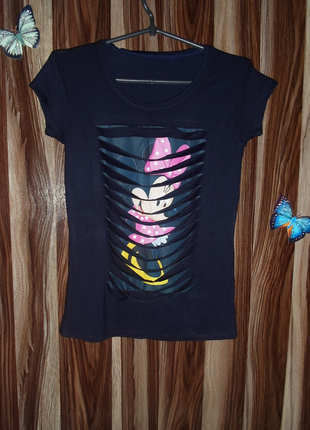 Стильная и оригинальная футболка минни рванка ,отличного качества
