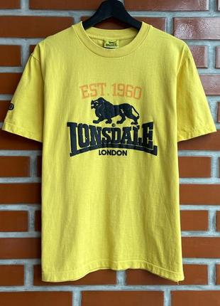 Lonsdale оригинал мужская футболка размер l лонсдейл б у