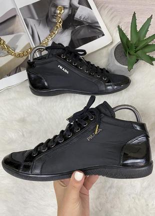 Оригинальные кроссовки prada 3t4995