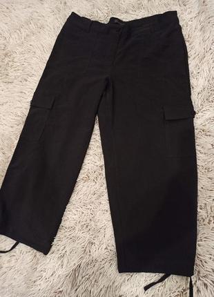 Укороченные стрейчевые брюки, бриджи, капри estelle