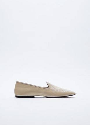 Лаковані туфлі zara балетки