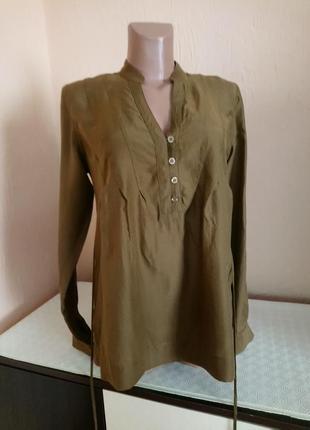 Красива базова блуза натуральна!.