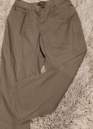 Стрейчевые хлопковые брюки grandiose
