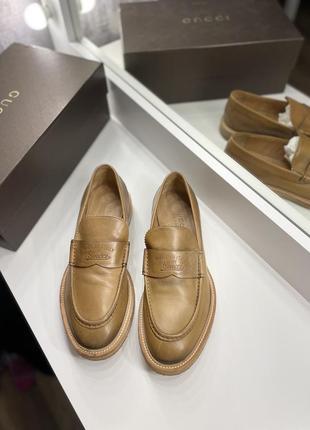 Лоферы туфли gucci