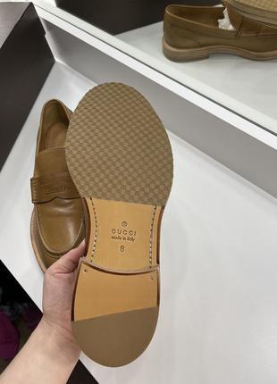 Лоферы туфли gucci3 фото