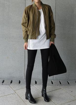 Куртка-пилот хаки