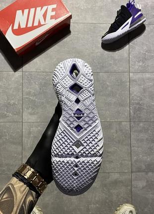 Женские кроссовки nike lebron 18 black violet 37-38-39-40-413 фото