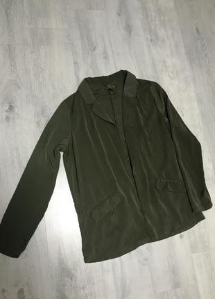 Бесформенный удлиненный пиджак amisu