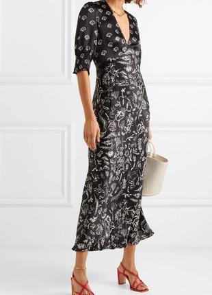 Изящное платье-миди в бельевом стиле,rico laura jackson