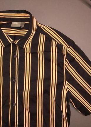 Стильна літня рубашка в полоску від asos
