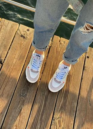 Кожаные кроссовки6 фото