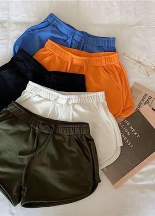 Женские шорты, короткие шорты, яркие шорты, спортивные шорты