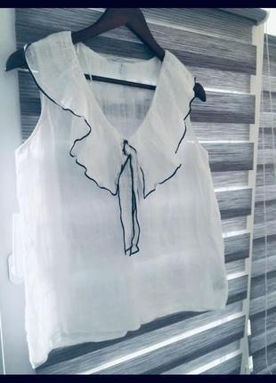 Натуральная блуза от zara