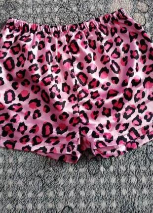 Шовкові шорти з піжами girls