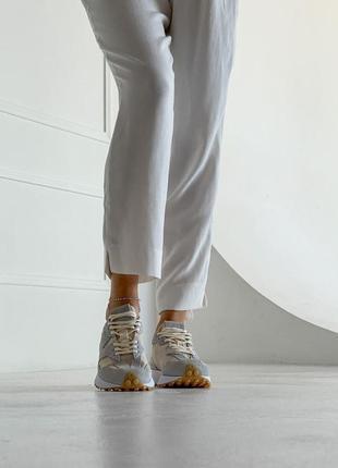 Шикарные женские кроссовки new balance 327 наложка2 фото