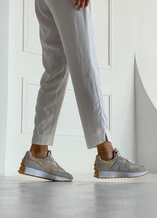 Шикарные женские кроссовки new balance 327 наложка5 фото
