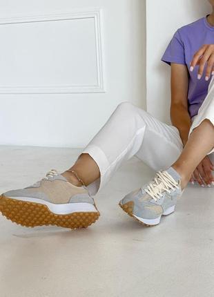 Шикарные женские кроссовки new balance 327 наложка6 фото
