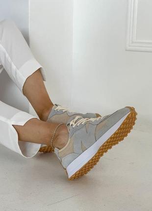 Шикарные женские кроссовки new balance 327 наложка7 фото