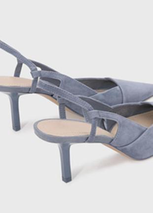 Туфли босоножки лодочки от zara