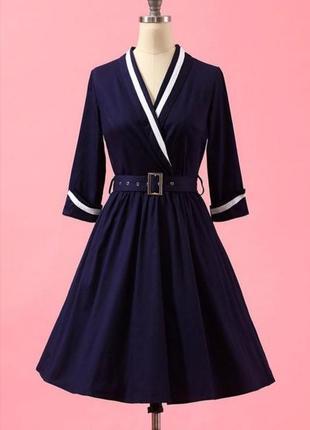 🌹 шикарное платье в винтажном стиле миди