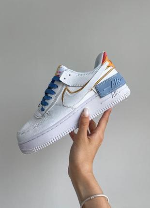 Шикарные кроссовки унисекс nike air force 1 наложка
