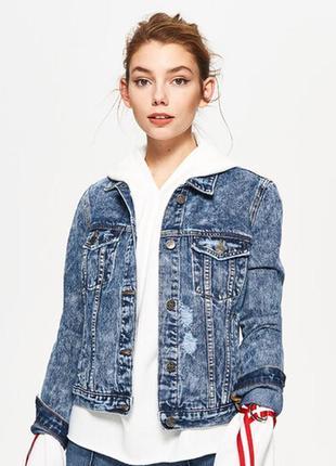 Джинсовка жакет джинсовый пиджак