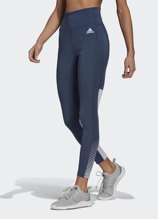 Леггинсы женские для фитнеса adidas design 2 move gl4018