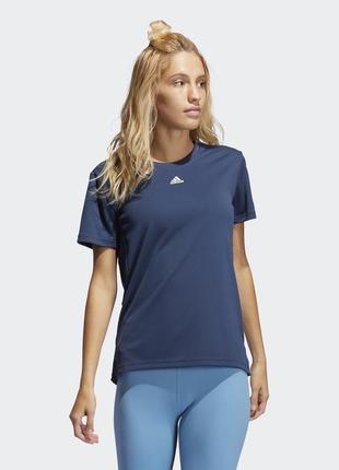 Футболка женская для фитнеса adidas necessi gq9408